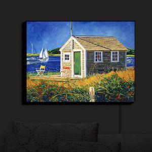 Nightlight Sconce Canvas Light | David Lloyd Glover - Cape Cod Boat House