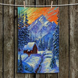 Unique Hanging Tea Towels   David Lloyd Glover - Christmas Japan