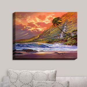 Decorative Canvas Wall Art | David Lloyd Glover - Dawn in Oahu