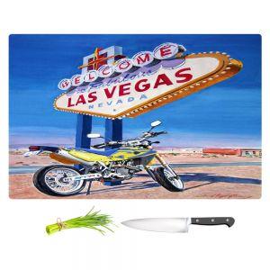 Artistic Kitchen Bar Cutting Boards | David Lloyd Glover - Easy Rider Las Vegas