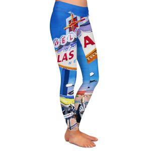 Unique Leggings XL from DiaNoche Designs by David Lloyd Glover - Easy Rider Las Vegas