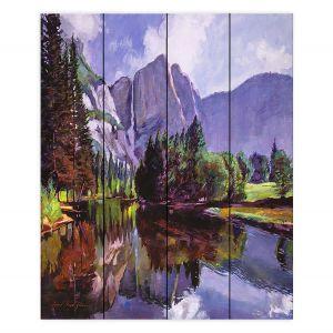 Decorative Wood Plank Wall Art | David Lloyd Glover - El Capitan Yosemite | landscape mountain nature