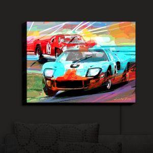 Nightlight Sconce Canvas Light | David Lloyd Glover - Ford GT40 | Racecars Cars