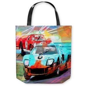 Unique Shoulder Bag Tote Bags   David Lloyd Glover Ford GT40