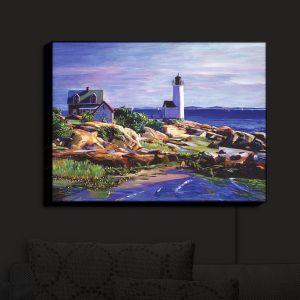 Nightlight Sconce Canvas Light | David Lloyd Glover - Maine Lighthouse