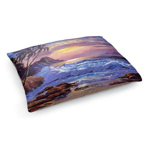 Decorative Dog Pet Beds | David Lloyd Glover - Maui Sunset | beach island sunset coast