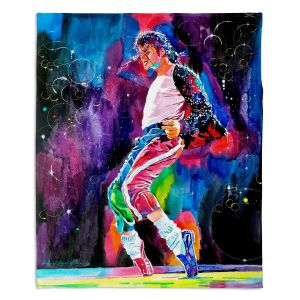 Decorative Fleece Throw Blankets | David Lloyd Glover - Michael Jackson Dance