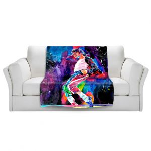 Artistic Sherpa Pile Blankets   David Lloyd Glover Michael Jackson Dance