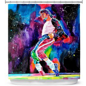 Premium Shower Curtains | David Lloyd Glover Michael Jackson Dance
