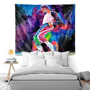 Artistic Wall Tapestry | David Lloyd Glover Michael Jackson Dance
