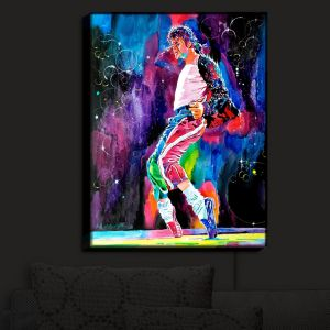 Nightlight Sconce Canvas Light | David Lloyd Glover's Michael Jackson Dance