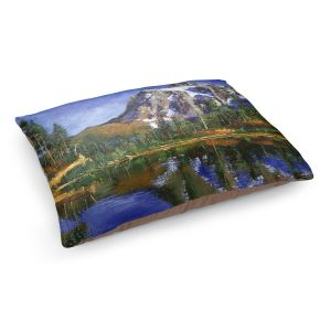 Decorative Dog Pet Beds | David Lloyd Glover - Mountain Stillness | landscape mountain nature