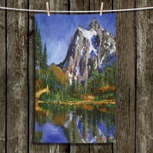 Unique Bathroom Towels   David Lloyd Glover - Mountain Stillness   landscape mountain nature