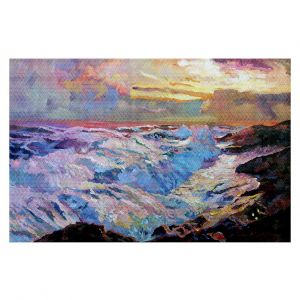 Decorative Floor Coverings | David Lloyd Glover Pacific Ocean Blue