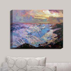 Decorative Canvas Wall Art | David Lloyd Glover - Pacific Ocean Blue