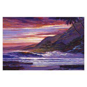Decorative Floor Covering Mats | David Lloyd Glover - Paradise Beach | coast ocean sea