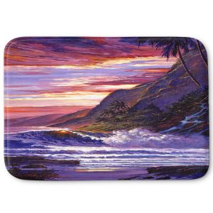 Decorative Bathroom Mats | David Lloyd Glover - Paradise Beach | coast ocean sea