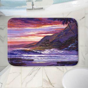 Decorative Bathroom Mats | David Lloyd Glover - Paradise Beach | coast ocean sea