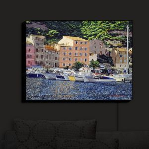 Nightlight Sconce Canvas Light | David Lloyd Glover - Riviera Morning