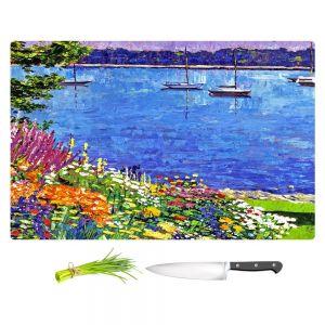 Artistic Kitchen Bar Cutting Boards | David Lloyd Glover - Sailboat Bay Garden