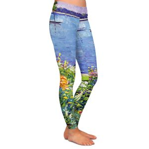Casual Comfortable Leggings | David Lloyd Glover Sailboat Bay Garden