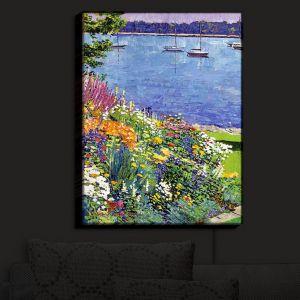 Nightlight Sconce Canvas Light | David Lloyd Glover's Sailboat Bay Garden