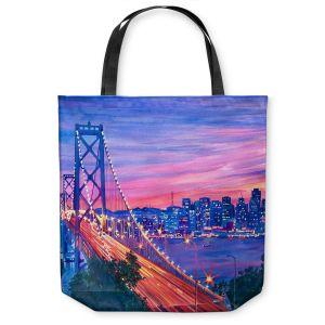 Unique Shoulder Bag Tote Bags   David Lloyd Glover San Francisco Nights