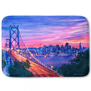 Decorative Bathroom Mats | David Lloyd Glover - San Francisco Nights
