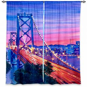 Decorative Window Treatments | David Lloyd Glover San Francisco Nights