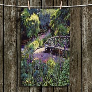 Decorative Hand Towel from DiaNoche Designs by David Lloyd Glover - Shakespeare Garden