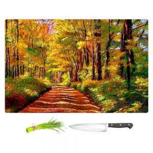 Artistic Kitchen Bar Cutting Boards | David Lloyd Glover - Silence is Golden