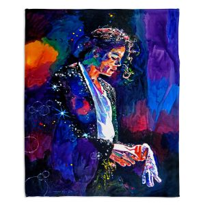 Decorative Fleece Throw Blankets | David Lloyd Glover - The Final Performance Michael Jackson