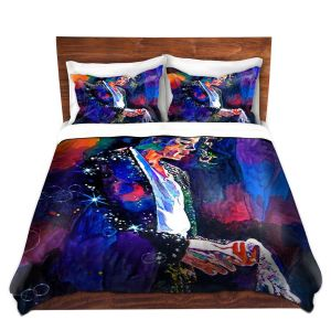 Artistic Duvet Covers and Shams Bedding | David Lloyd Glover - The Final Performance Michael Jackson