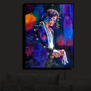 Nightlight Sconce Canvas Light | David Lloyd Glover's The Final Performance Michael Jackson