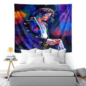Artistic Wall Tapestry | David Lloyd Glover The Final Performance Michael Jackson
