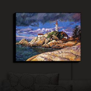 Nightlight Sconce Canvas Light | David Lloyd Glover - The Mariners Sentinal | landscape mountain nature