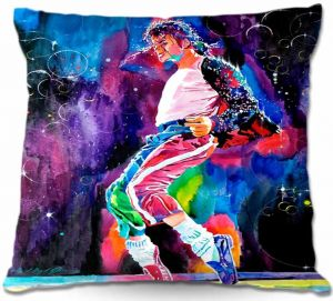 Decorative Outdoor Patio Pillow Cushion | David Lloyd Glover - Michael Jackson Dance