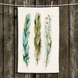 Unique Bathroom Towels | Dawn Derman - 3 Feathers