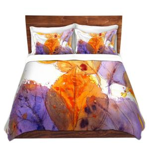Artistic Duvet Covers and Shams Bedding | Dawn Derman - Anticipating Autumn