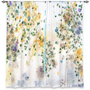 Unique Window Curtain Lined 40w x 61h from DiaNoche Designs by Dawn Derman - Aspen Grove