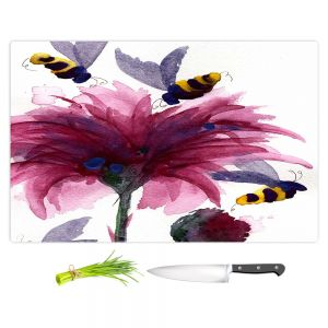 Artistic Kitchen Bar Cutting Boards | Dawn Derman - Bees in the Thistle