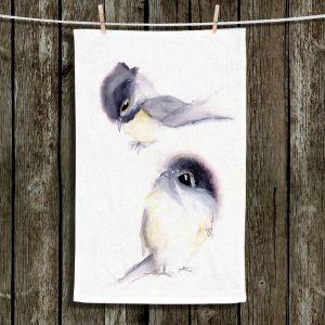 Unique Bathroom Towels | Dawn Derman - Behind You | Animals Birds Nature