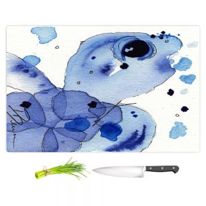 Artistic Kitchen Bar Cutting Boards | Dawn Derman - Blue Seaturtle