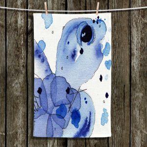 Unique Hanging Tea Towels | Dawn Derman - Blue Seaturtle | Seaturtle