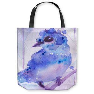 Unique Shoulder Bag Tote Bags | Dawn Derman - Bluebelle