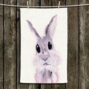 Unique Bathroom Towels | Dawn Derman - Bunny Rabbit 2 | Animals Nature