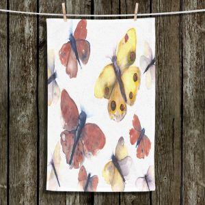 Unique Bathroom Towels | Dawn Derman - Butterflies | Insects Nature