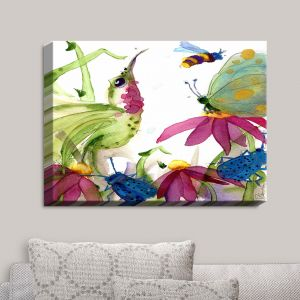 Decorative Canvas Wall Art | Dawn Derman - Calliope Coneflower