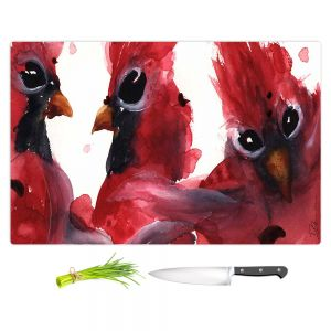 Artistic Kitchen Bar Cutting Boards | Dawn Derman - Cardinals