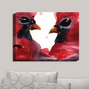 Decorative Canvas Wall Art | Dawn Derman - Cardinals